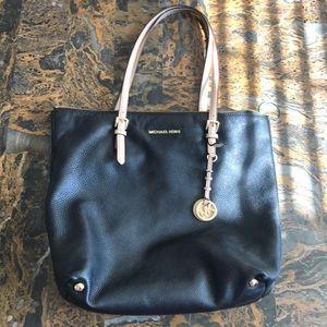 Michael Kors Black Soft Leather Purse